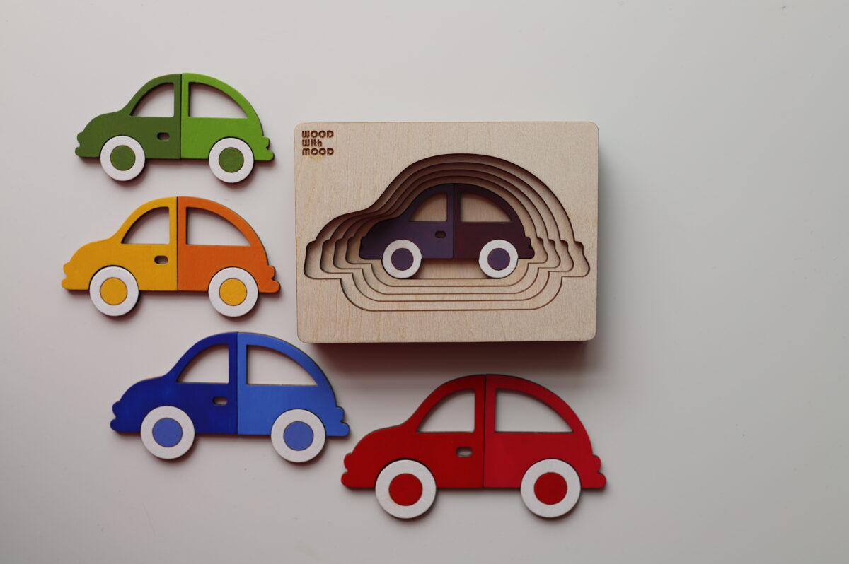 "Puzle ""Mašīnas""."